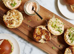Cauliflower sliders, anyone?