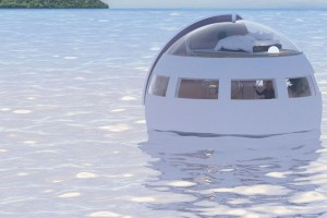 Want to sleep in this floating casket?