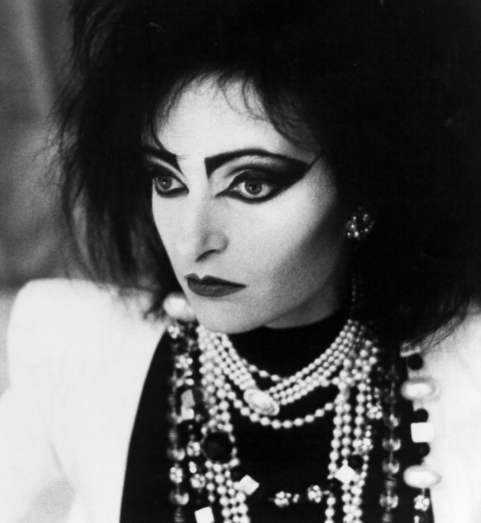 Siouxsie Sioux is having NONE of your critiques. (photo courtesy of Siouxsie Sioux)