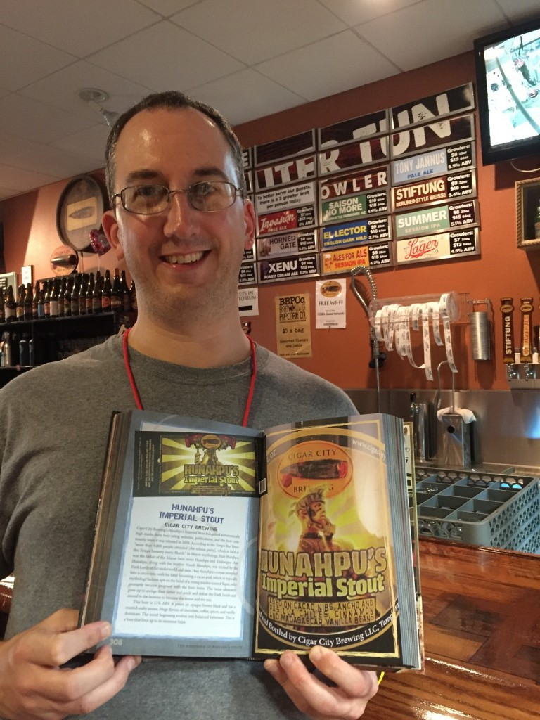 "My entry on Hunahpu's Imperial Stout from ""The Handbook of Porters & Stouts"""