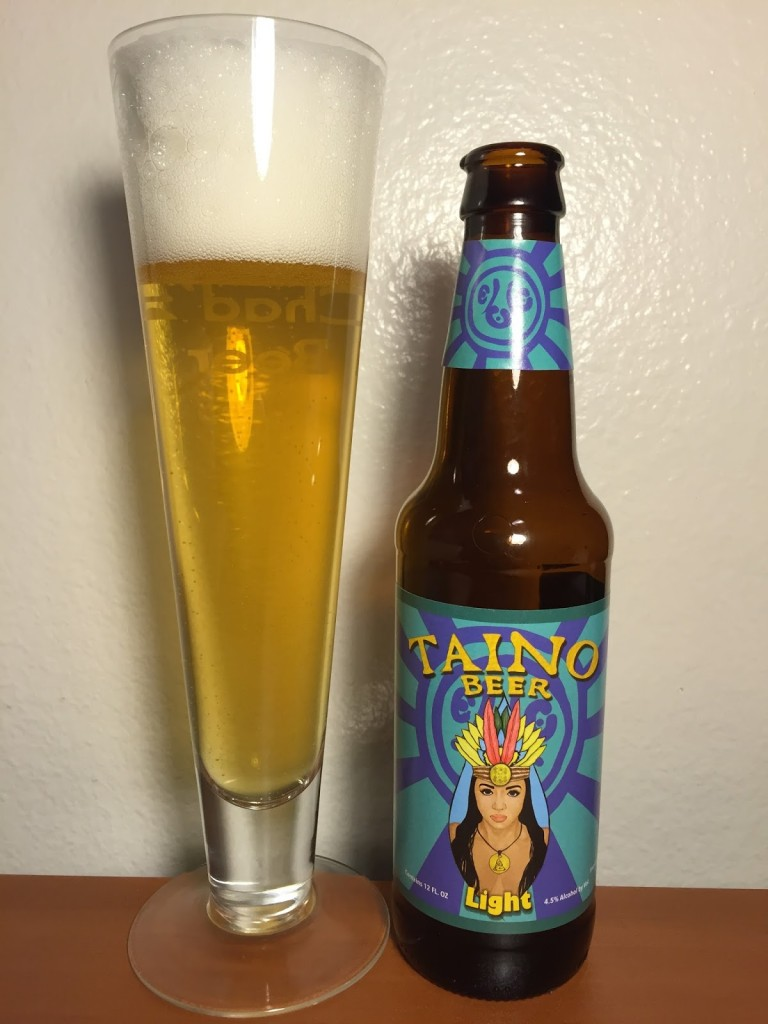 Boricua Taino Light Beer 001