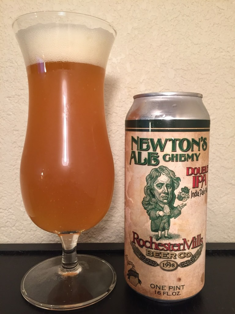 Rochester Mills Newton's ALEchemy Double IPA 003