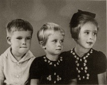 Mythic Yoga: Personal Mythology. My father and his sisters before the war in The Dutch East Indies