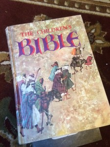 Children's Bible Jesus loves refugees, illegals