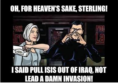 Archer ISIS Bitchslap