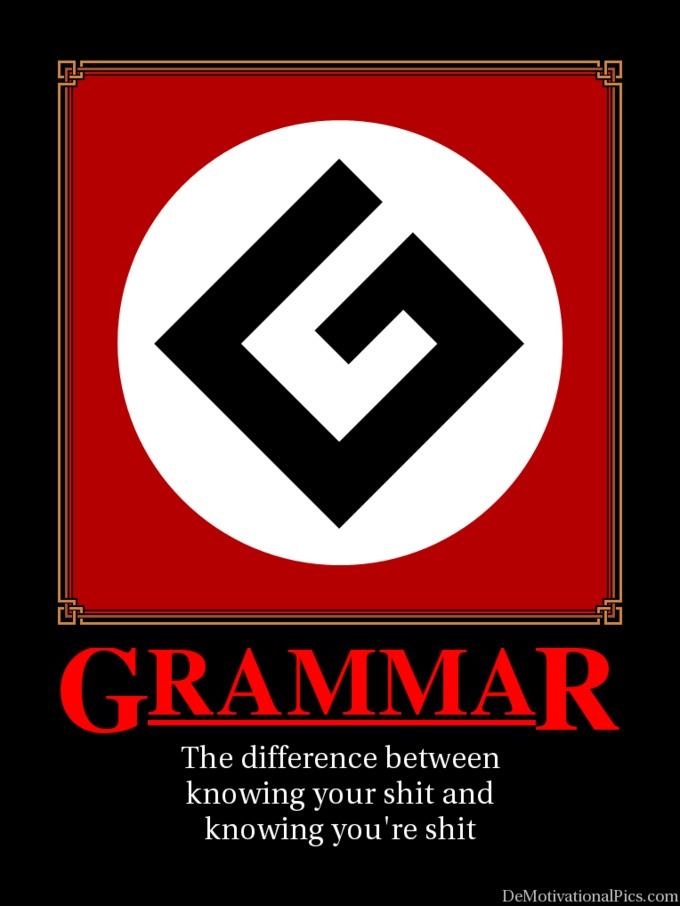 GRAMMAR NAZIS! PLEASE HELP?