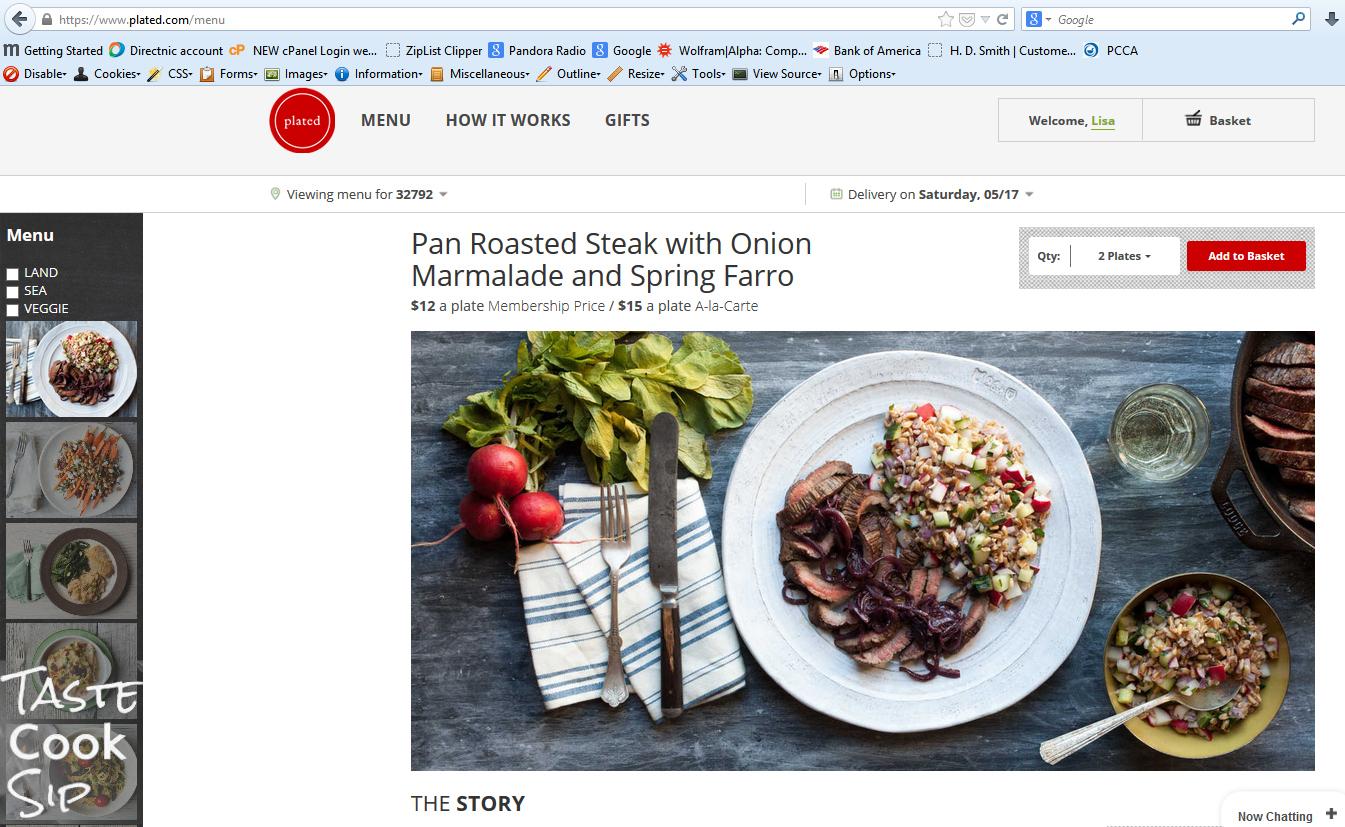 Taste cook sip shark tanks plated online meal delivery plated screenshot 6 forumfinder Images