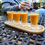 Cream of Carrot Shooters
