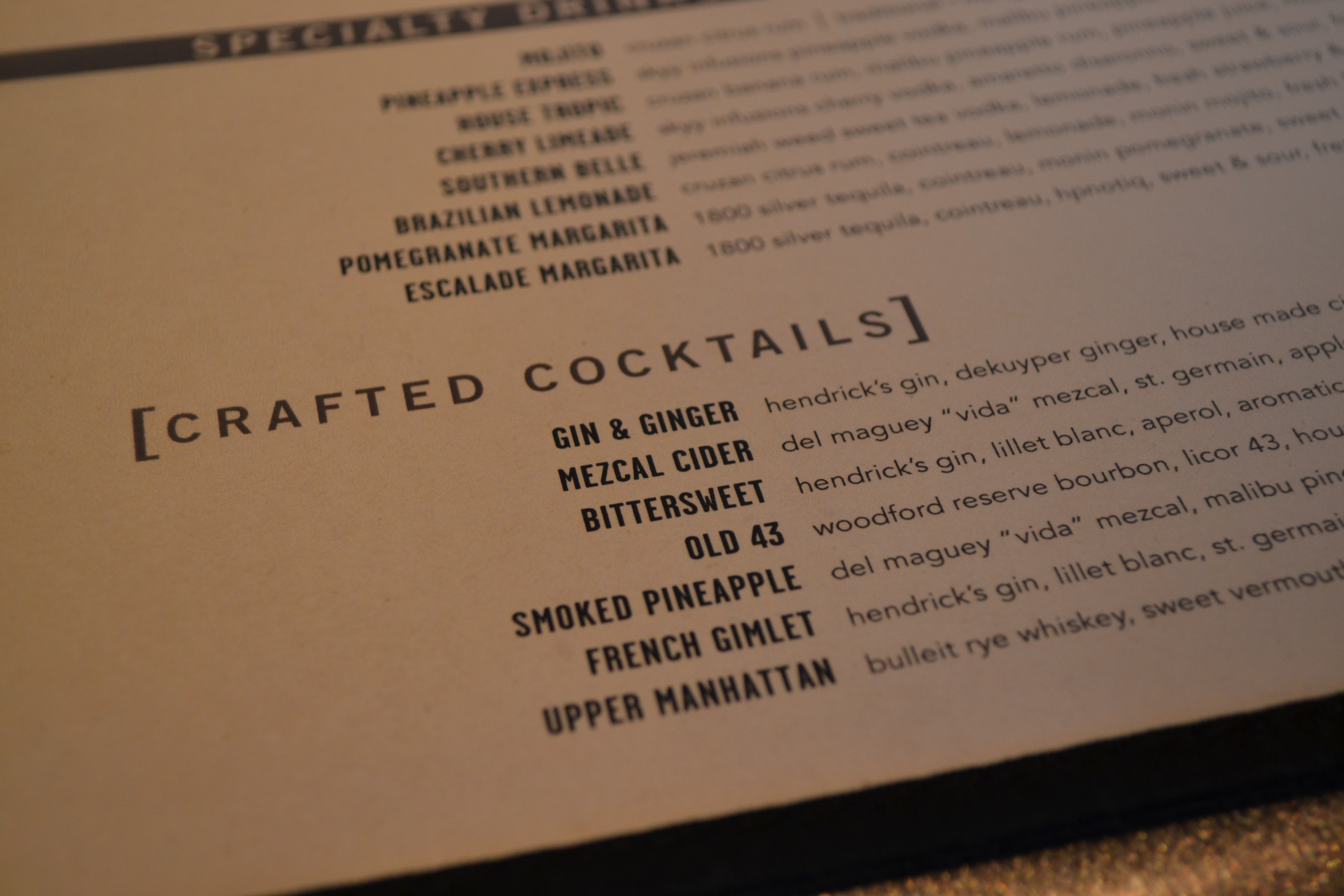 Yard House Cocktail Menu Related Keywords Suggestions Yard House